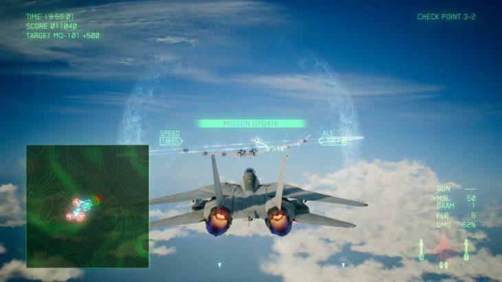 エースコンバット7のキャンペーン ミッション03 初心者向け攻略のこつ