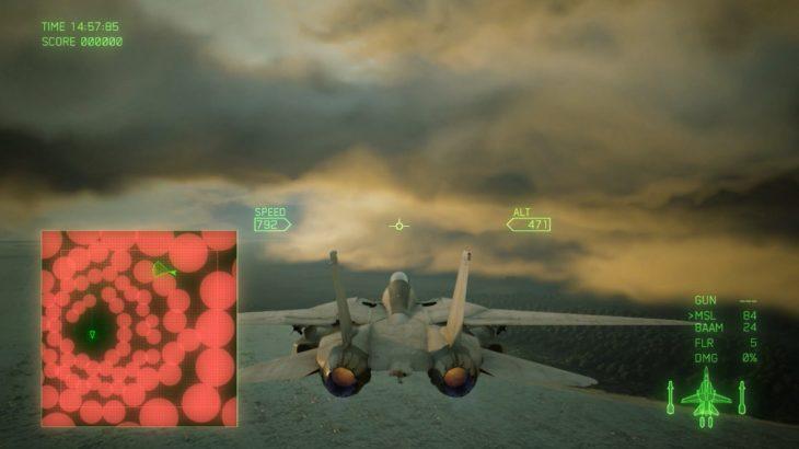 エースコンバット7のキャンペーン ミッション04 初心者向け攻略のこつ