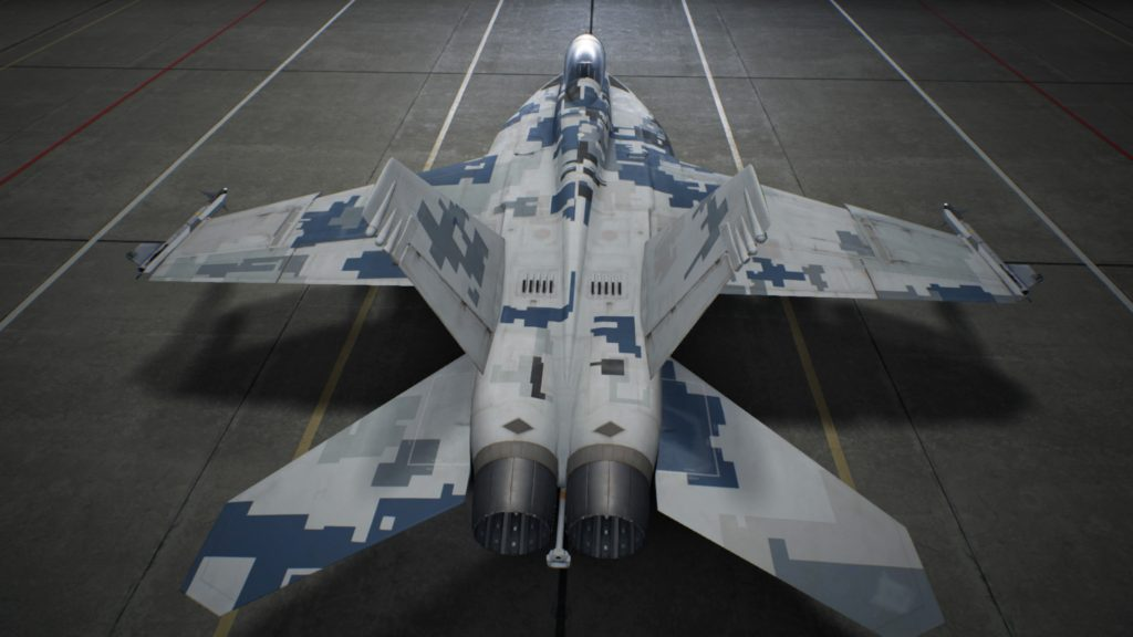 ACE COMBAT™ 7: SKIES UNKNOWN_F/A-18F Super Hornet03 Special Skin