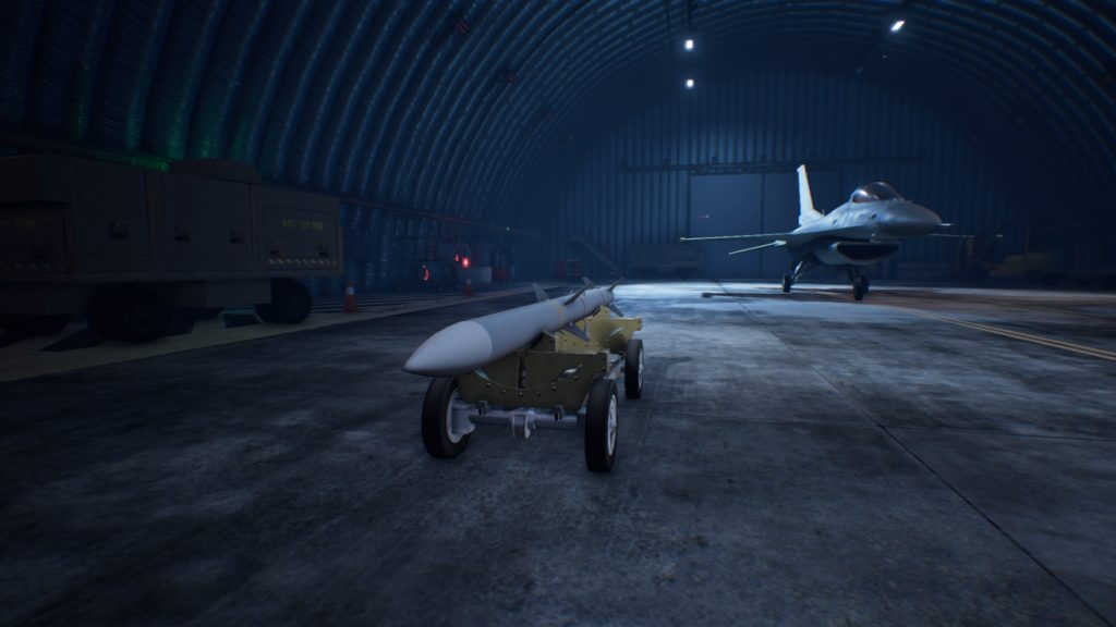ACE COMBAT™ 7: SKIES UNKNOWN_F-16C Fighting Falcon 4AAM