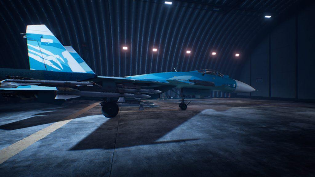 ACE COMBAT™ 7: SKIES UNKNOWN_Su-33 Flanker-D06 Strider Skin