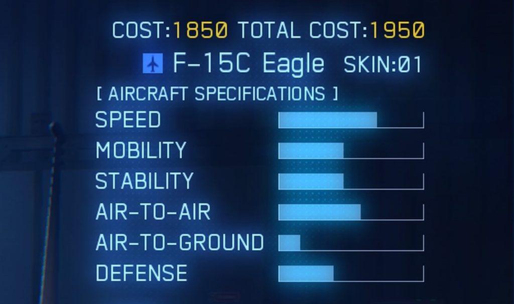 ACE COMBAT™ 7: SKIES UNKNOWN_F-15C SPEC