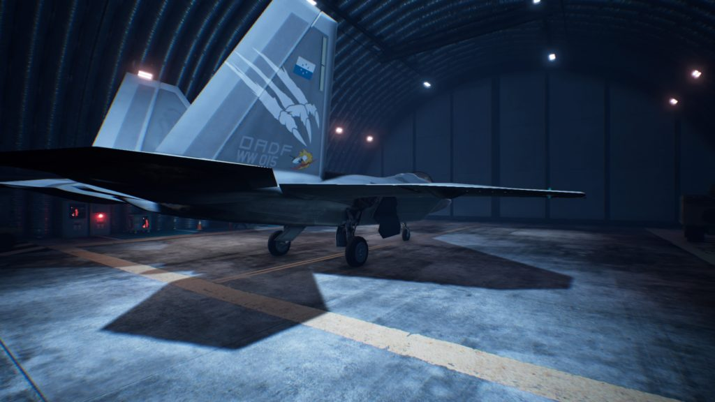 ACE COMBAT™ 7: SKIES UNKNOWN_F-22A 06 Strider Skin