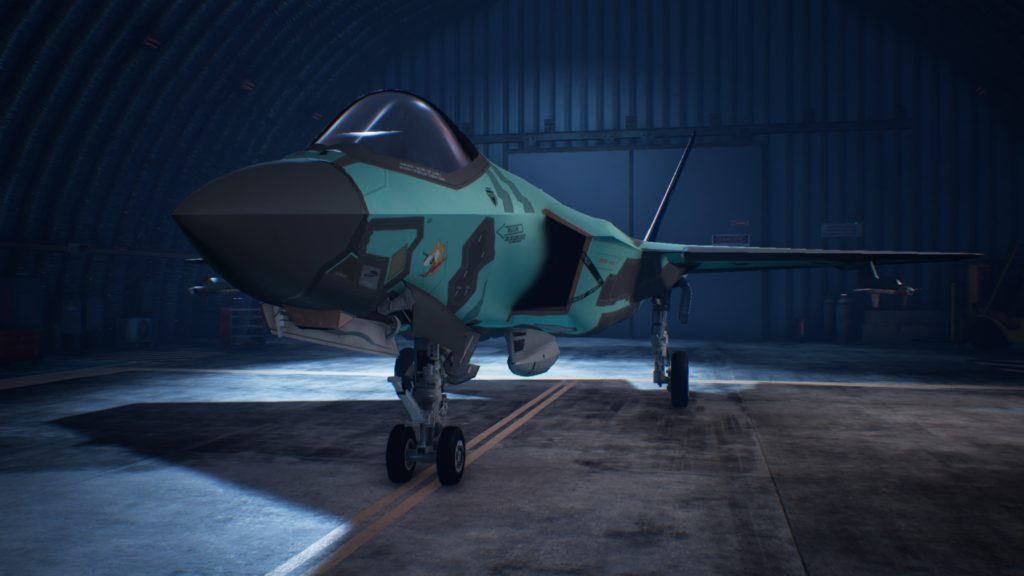 ACE COMBAT™ 7: SKIES UNKNOWN_F-35C Lightning II 03 Special Skin