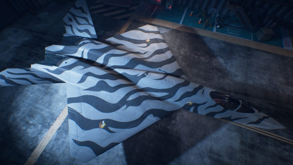ACE COMBAT™ 7: SKIES UNKNOWN_YF-23 Black Widow II03 Special Skin