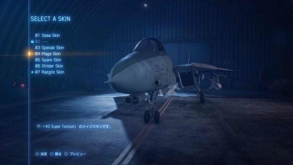 ACE COMBAT™ 7: SKIES UNKNOWN_F-14D Super Tomcat04 Mage Skin