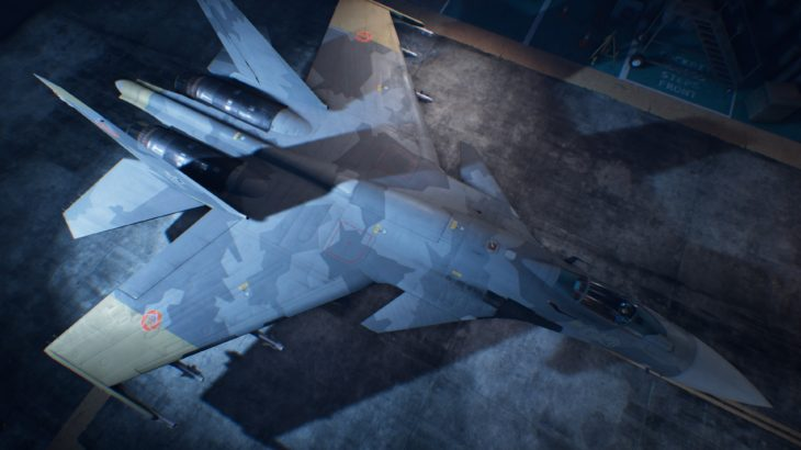 ACE COMBAT™ 7: SKIES UNKNOWN_Su-37 Terminator 07 Yellow 13 Skin
