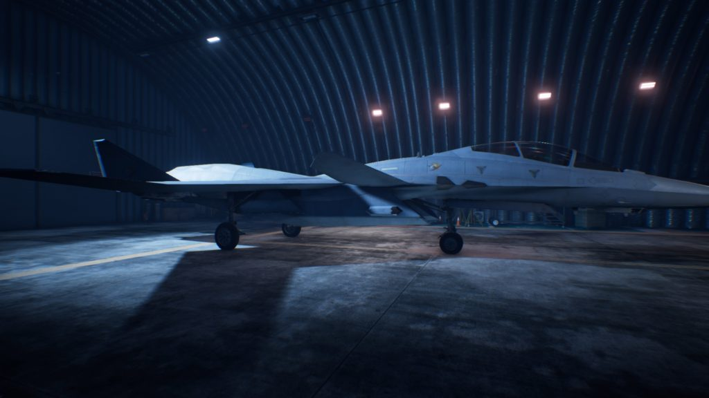 ACE COMBAT™ 7: SKIES UNKNOWN_X-02S Strike Wyvern 01 Osea Skin