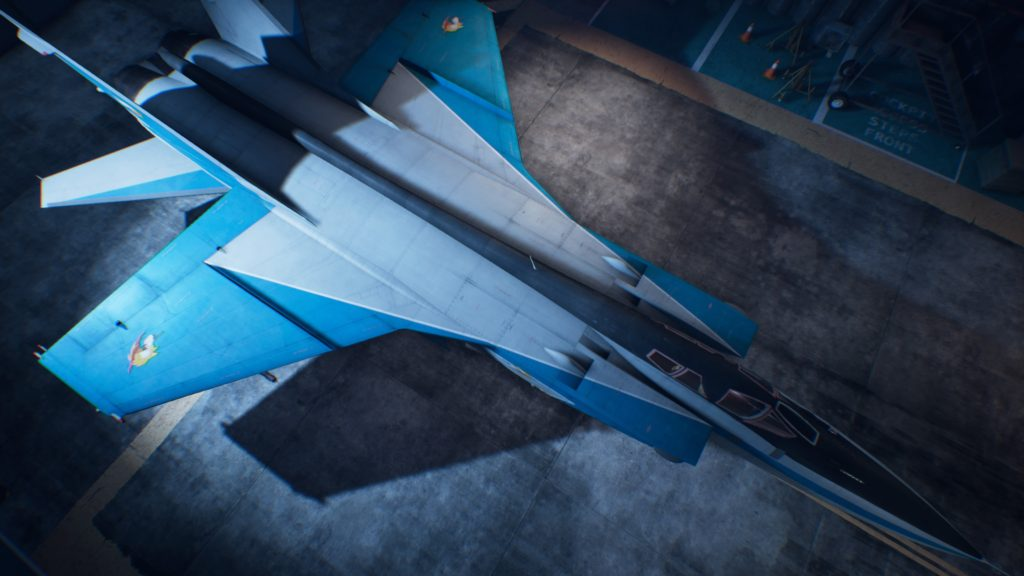 ACE COMBAT™ 7: SKIES UNKNOWN_MiG-31B Foxhound03 Special Skin
