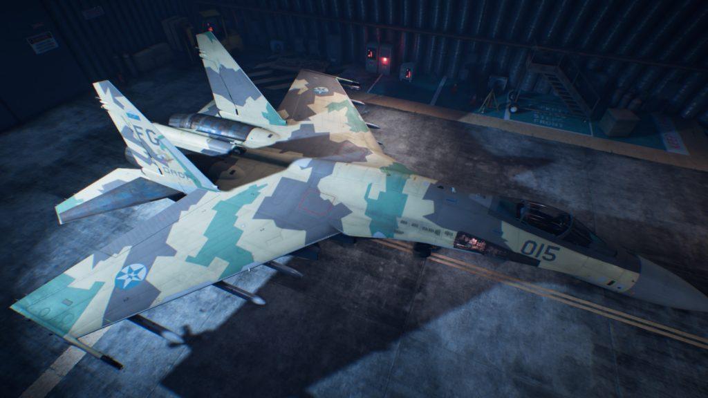 ACE COMBAT™ 7: SKIES UNKNOWN_Su-35S04 Mage Skin