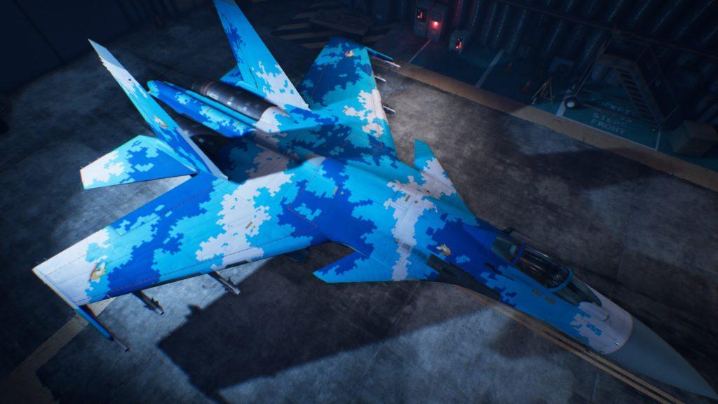 ACE COMBAT™ 7: SKIES UNKNOWN_Su-37 Terminator03 Special Skin