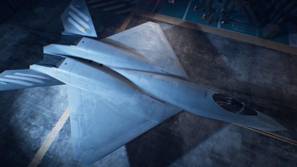 ACE COMBAT™ 7: SKIES UNKNOWN_YF-23 Black Widow II05 Spare Skin