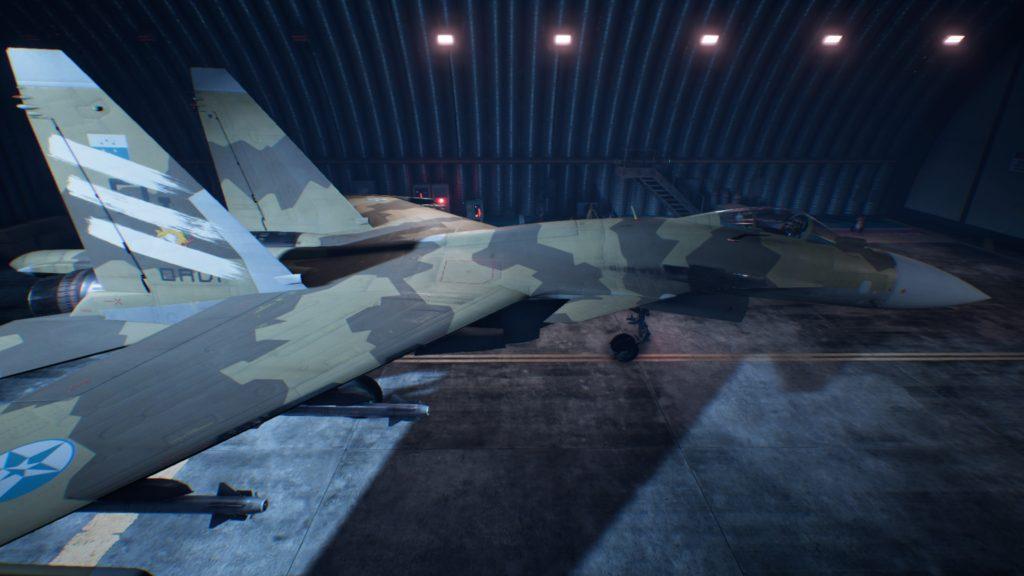 ACE COMBAT™ 7: SKIES UNKNOWN_Su-37 Terminator 05 Spare Skin