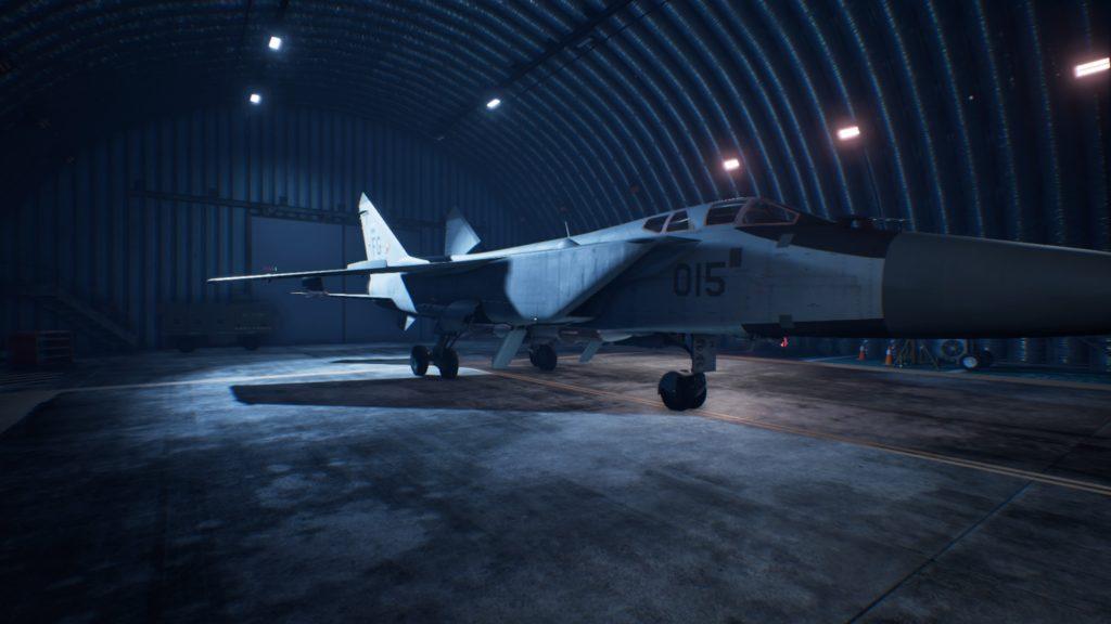 ACE COMBAT™ 7: SKIES UNKNOWN_MiG-31B Foxhound04 Mage Skin