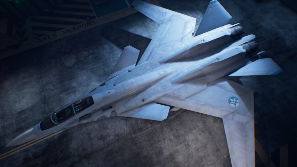 ACE COMBAT™ 7: SKIES UNKNOWN_X-02S Strike Wyvern 05 Spare Skin