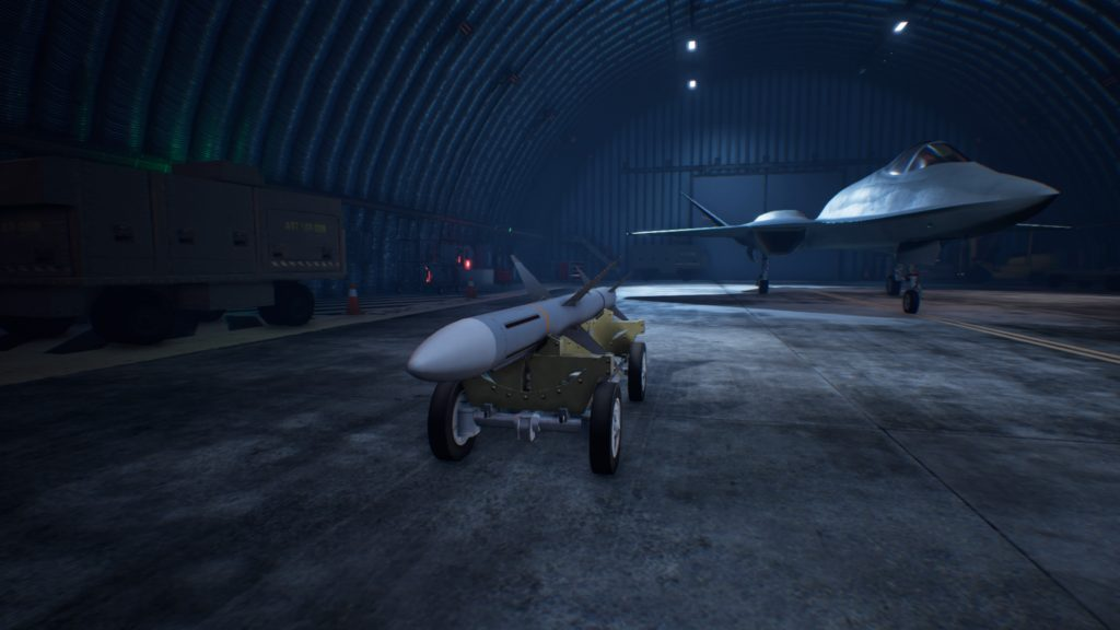 ACE COMBAT™ 7: SKIES UNKNOWN_YF-23 Black Widow IIHVAA