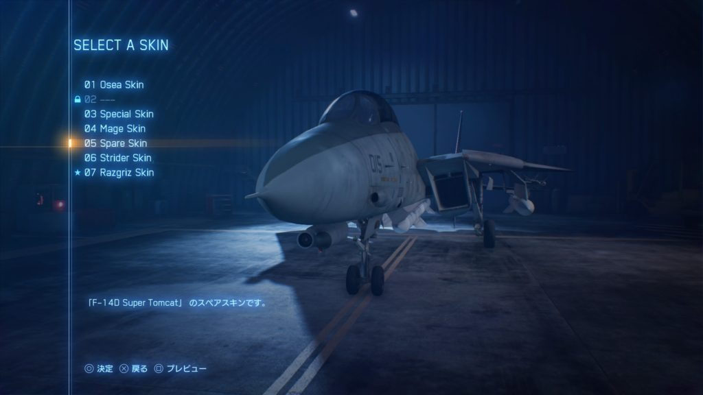 ACE COMBAT™ 7: SKIES UNKNOWN_F-14D Super Tomcat05 Spare Skin