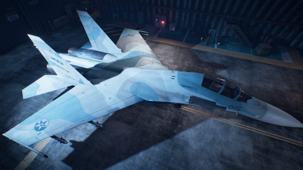 ACE COMBAT™ 7: SKIES UNKNOWN_Su-30M2 05 Spare Skin