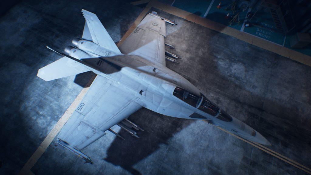 ACE COMBAT™ 7: SKIES UNKNOWN_F/A-18F Super Hornet06 Strider Skin