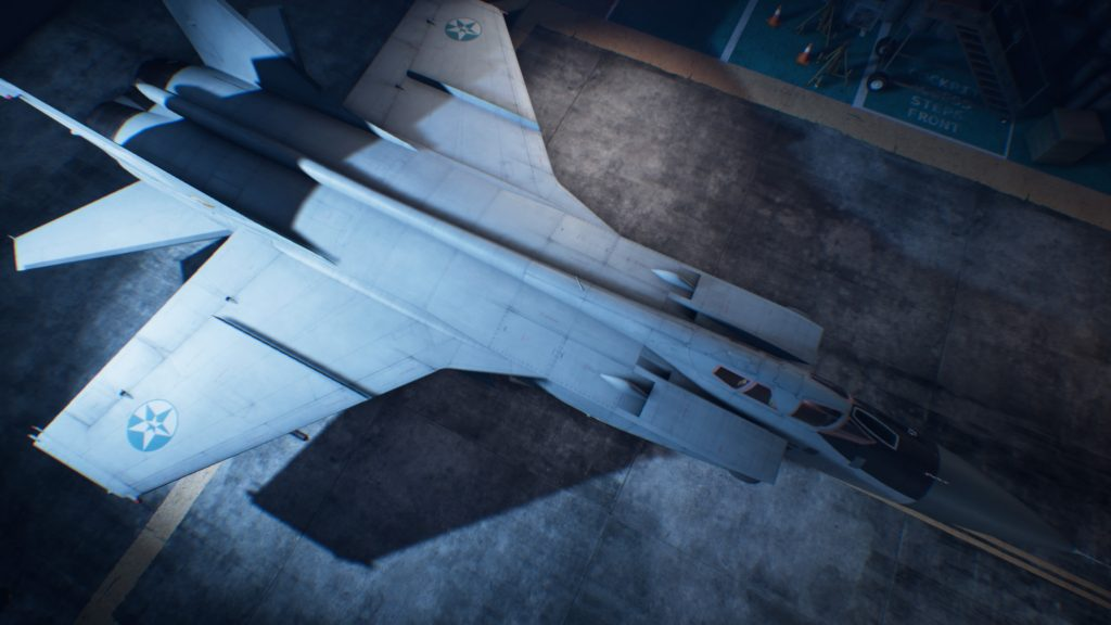 ACE COMBAT™ 7: SKIES UNKNOWN_MiG-31B Foxhound06 Strider Skin