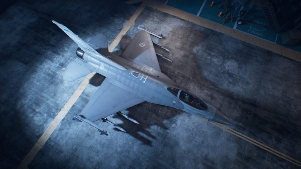 ACE COMBAT™ 7: SKIES UNKNOWN_Fighting Falcon06 Strider Skin
