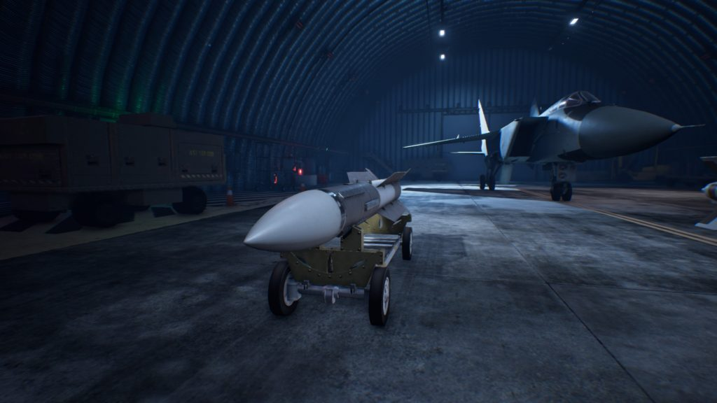 ACE COMBAT™ 7: SKIES UNKNOWN_MiG-31B FoxhoundLAAM