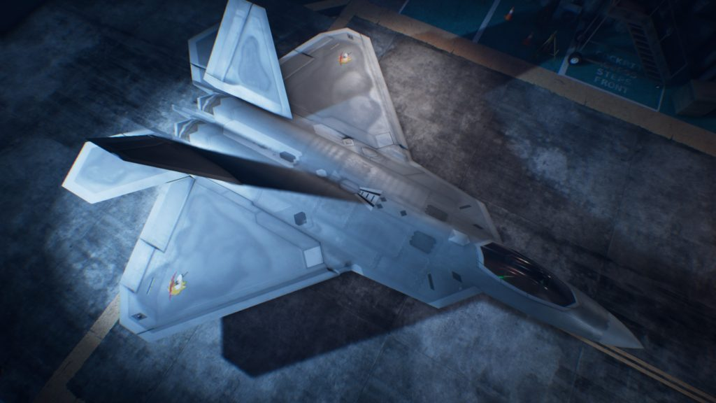 ACE COMBAT™ 7: SKIES UNKNOWN_F-22A 01 Osea Skin