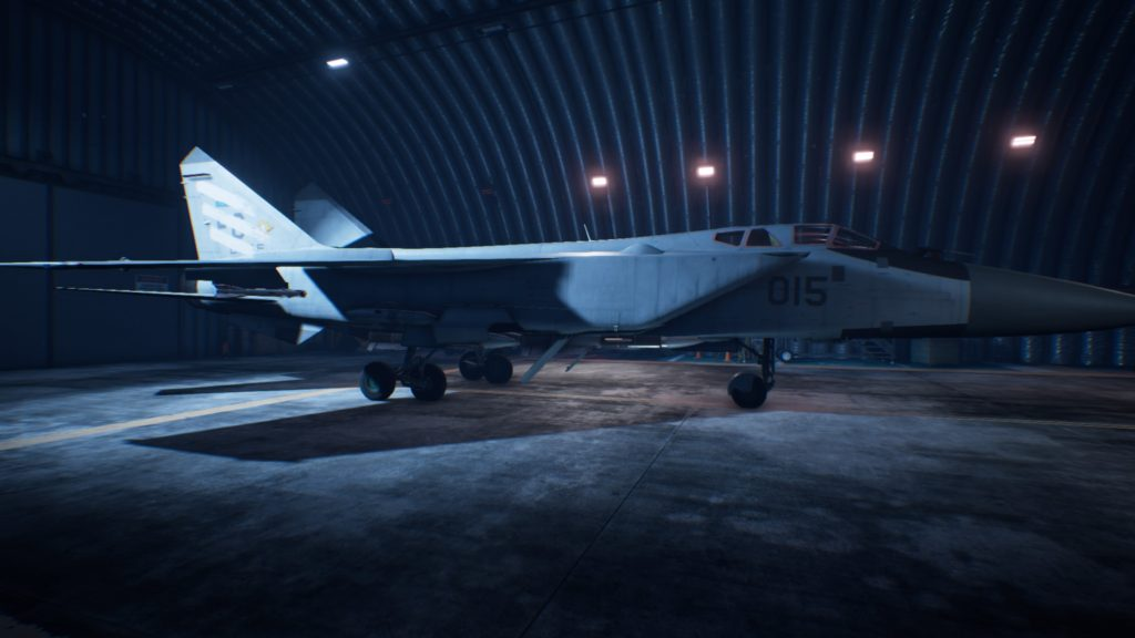 ACE COMBAT™ 7: SKIES UNKNOWN_MiG-31B Foxhound05 Spare Skin