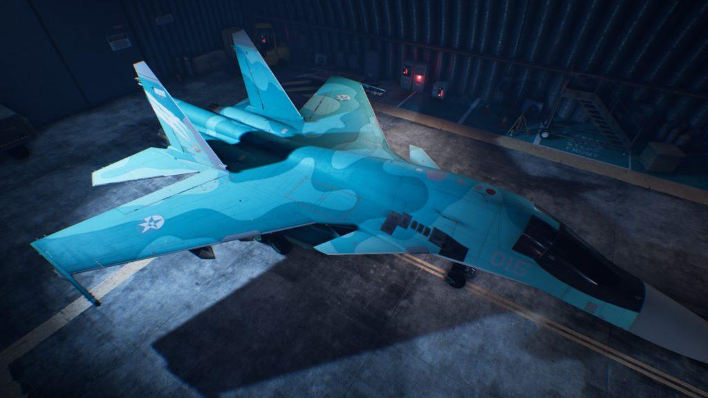 ACE COMBAT™ 7: SKIES UNKNOWN_Su-34 Fullback 06 Strider Skin