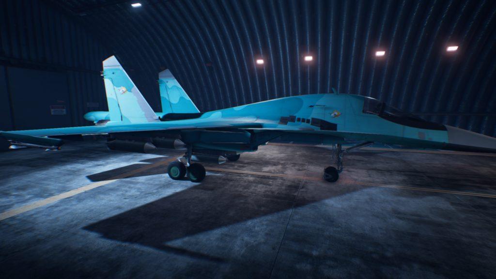 ACE COMBAT™ 7: SKIES UNKNOWN_Su-34 Fullback01 Osea Skin