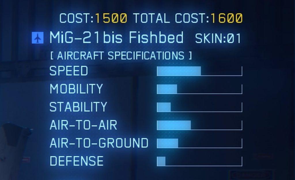 ACE COMBAT™ 7: SKIES UNKNOWN_MiG-21bis Fishbed
