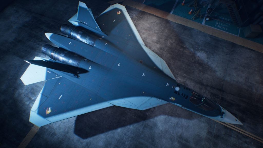 ACE COMBAT™ 7: SKIES UNKNOWN_Su-57 03 Special Skin