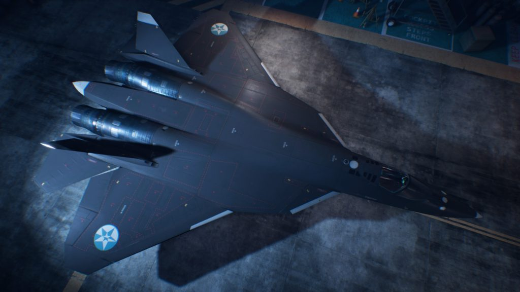 ACE COMBAT™ 7: SKIES UNKNOWN_Su-57 06 Strider Skin
