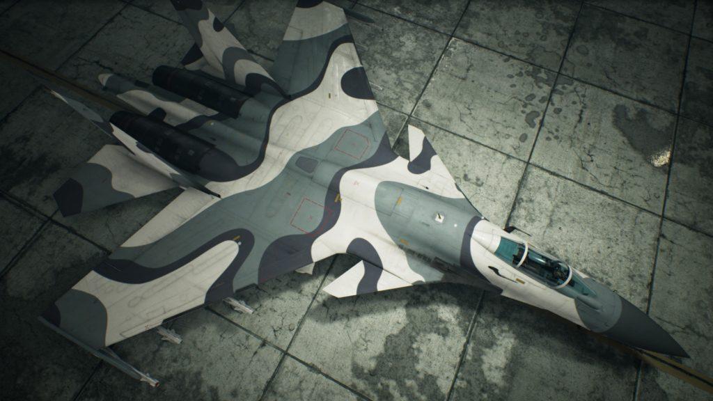 ACE COMBAT™ 7: SKIES UNKNOWN_Su-37 Terminator02 Erusea Skin
