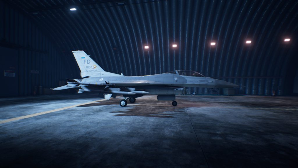 ACE COMBAT™ 7: SKIES UNKNOWN_F-16C Fighting Falcon04 Mage Skin