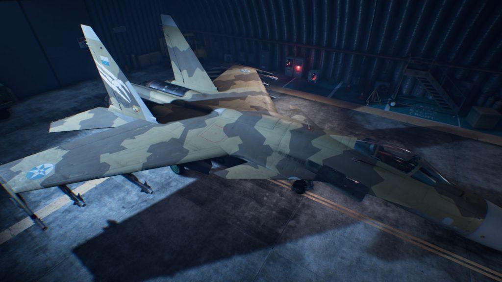 ACE COMBAT™ 7: SKIES UNKNOWN_Su-37 Terminator06 Strider Skin