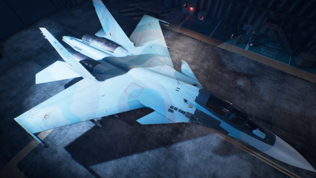 ACE COMBAT™ 7: SKIES UNKNOWN_Su-30SM 01 Osea Skin