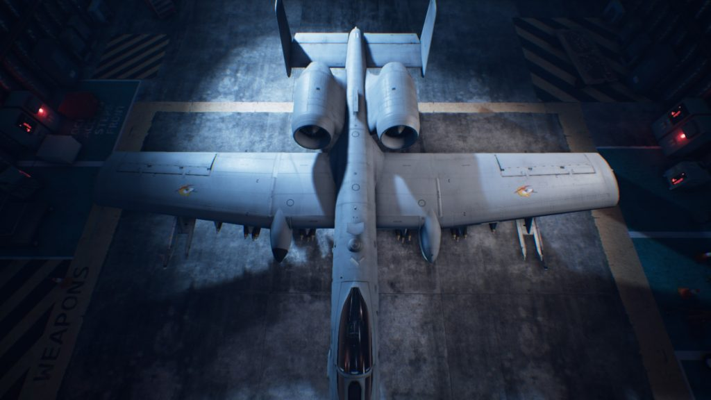 ACE COMBAT™ 7: SKIES UNKNOWN_A-10C Thunderbolt II01 Osea Skin