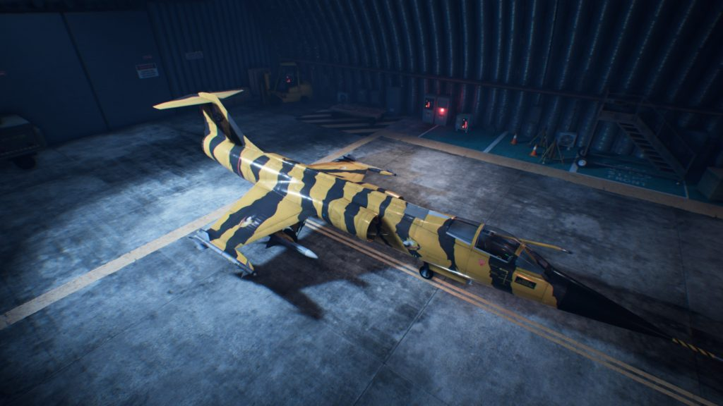 ACE COMBAT™ 7: SKIES UNKNOWN_F-104C Starfighter 03 Special Skin