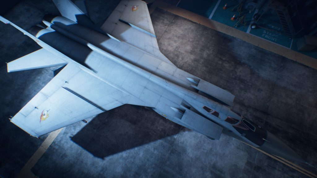 ACE COMBAT™ 7: SKIES UNKNOWN_MiG-31B Foxhound01 Osea Skin