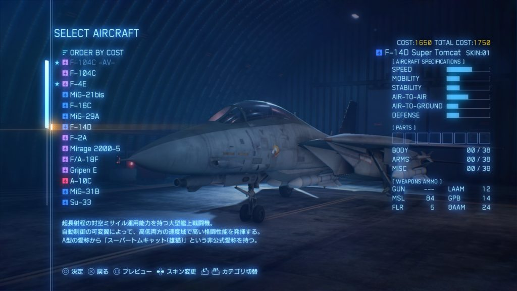 ACE COMBAT™ 7: SKIES UNKNOWN_F-14D Super Tomcat