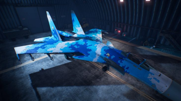 ACE COMBAT™ 7: SKIES UNKNOWN_Su-37 Terminator 03 Special Skin