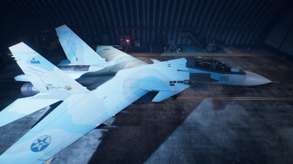 ACE COMBAT™ 7: SKIES UNKNOWN_Su-30SM 06 Strider Skin