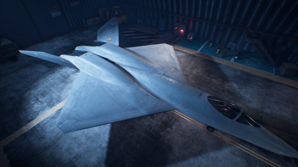 ACE COMBAT™ 7: SKIES UNKNOWN_YF-23 Black Widow II04 Mage Skin