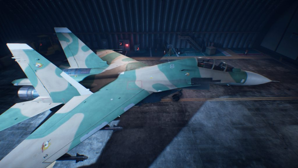 ACE COMBAT™ 7: SKIES UNKNOWN_Su-30M2 02 Erusea Skin