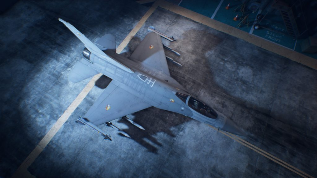 ACE COMBAT™ 7: SKIES UNKNOWN_F-16C Fighting Falcon01 Osea Skin