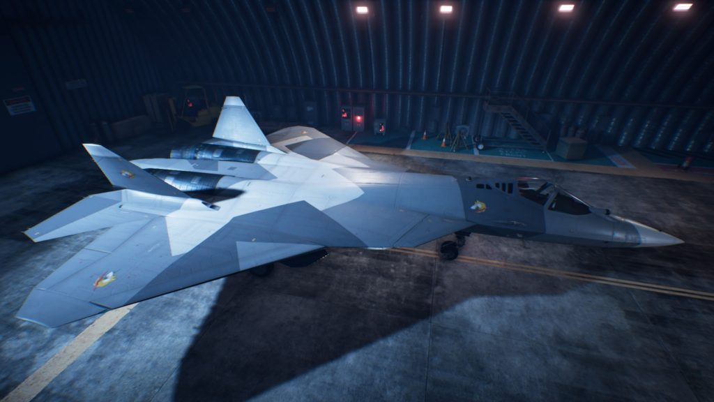 ACE COMBAT™ 7: SKIES UNKNOWN_Su-57 02 Erusea Skin