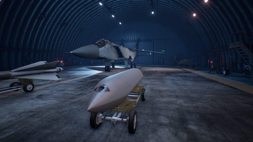ACE COMBAT™ 7: SKIES UNKNOWN_MiG-31B Foxhound PLSL