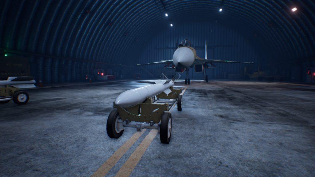 ACE COMBAT™ 7: SKIES UNKNOWN_Su-37 Terminator4AAM