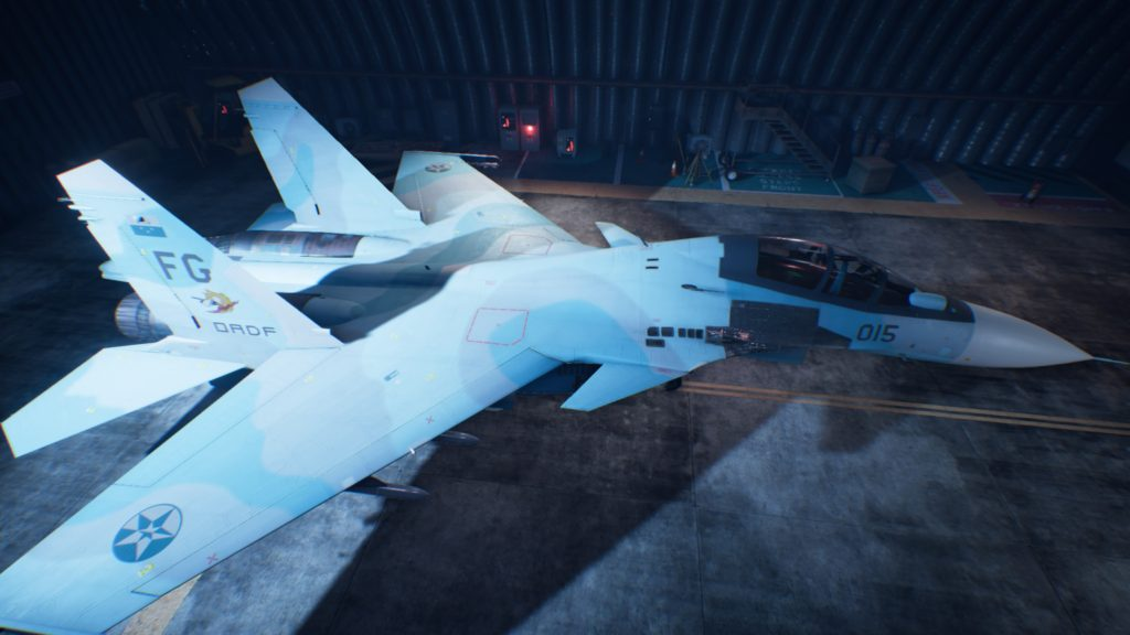 ACE COMBAT™ 7: SKIES UNKNOWN_Su-30SM 04 Mage Skin